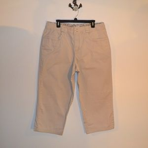 Merona tan/cream Bermuda shorts 18w